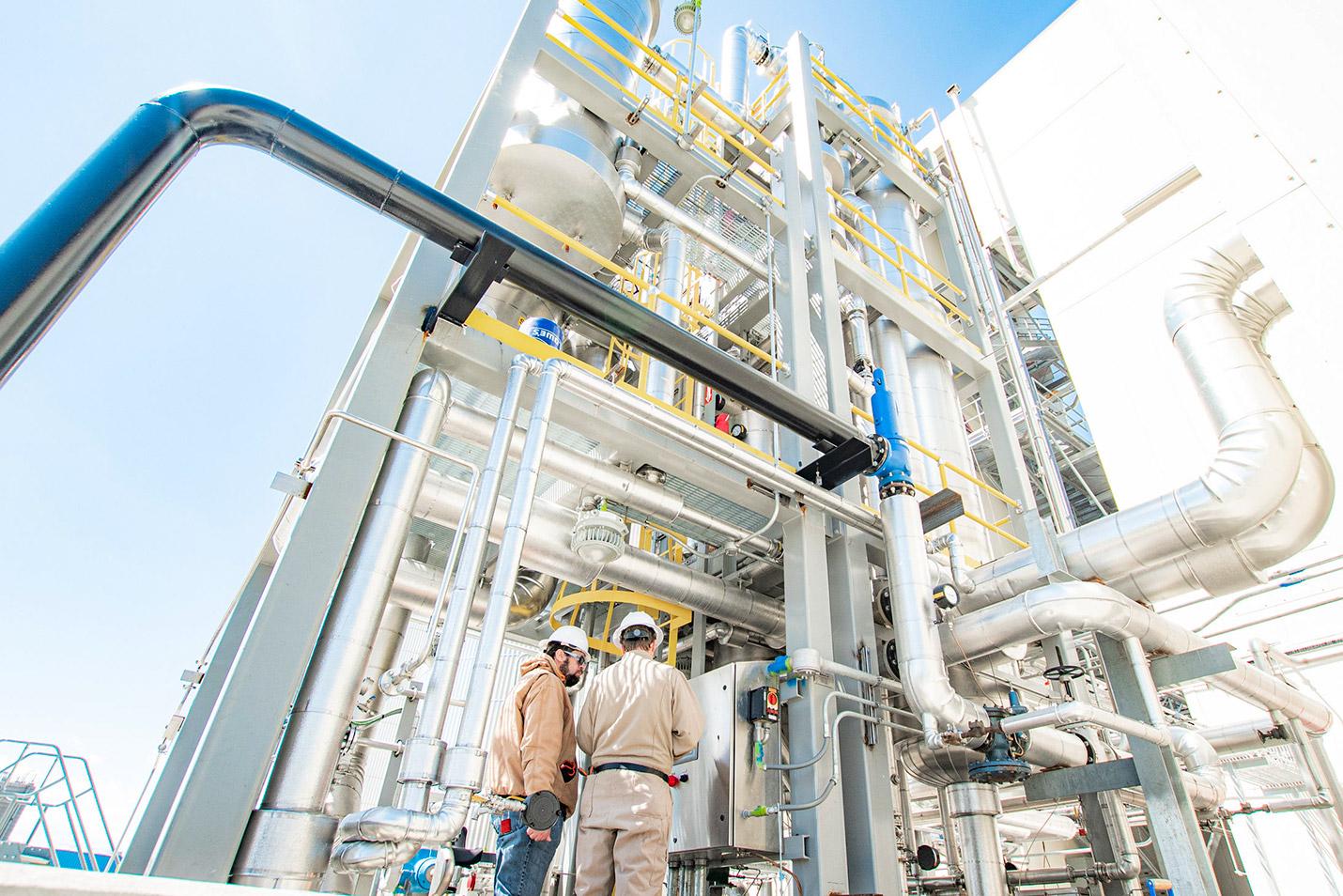 New Commercial Manufacturing Plant - Danimer Scientific